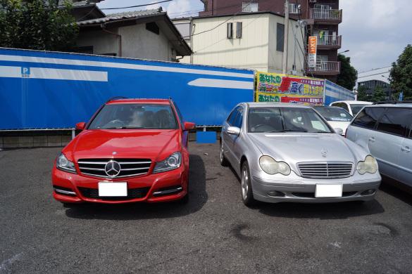 W203(右)→S204(左)